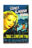 THE TRAIL OF THE LONESOME PINE, Sylvia Sidney, Fred MacMurray, Henry Fonda, 1936 Prints