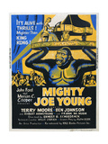 MIGHTY JOE YOUNG, US poster, from top: Terry Moore, Mighty Joe Young, 1949 Prints