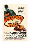 ON BORROWED TIME, Cedric Hardwicke, Bobs Watson, Lionel Barrymore, 1939 Prints