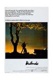 BADLANDS, US poster, Martin Sheen, Sissy Spacek, 1973 Kunstdruck