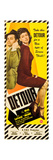 DETOUR, l-r: Tom Neal, Ann Savage on insert poster, 1945. Poster
