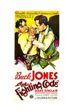THE FIGHTING CODE, Buck Jones, 1933. Prints