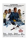 ICE STATION ZEBRA, from left: Ernest Borgnine, Jim Brown, Rock Hudson, Patrick McGoohan, 1968 Umělecké plakáty