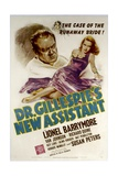 DR. GILLESPIE'S NEW ASSISTANT, from left: Lionel Barrymore, Susan Peters, 1942. Posters