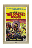 THE COVERED WAGON, style 'C' poster, 1923. Posters