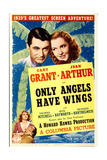 ONLY ANGELS HAVE WINGS, Cary Grant, Jean Arthur, 1939. Prints