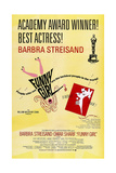 Funny Girl, US poster, Barbra Streisand, Omar Sharif, 1968 Prints