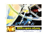 2001: A SPACE ODYSSEY, US lobbycard, bottom left: Keir Dullea, 1968 Art