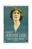 BATTLING JANE, Dorothy Gish, 1918 Poster