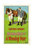A WINNING PAIR, from left: Wanda Wiley, Charles Lamont, 1925. Poster