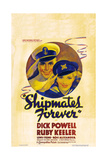 SHIPMATES FOREVER, US poster art, from left: Dick Powell, Ruby Keeler, 1935 Posters