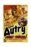 GUNS AND GUITARS, left: Gene Autry, 1936. Posters
