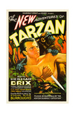 THE NEW ADVENTURES OF TARZAN, Herman Brix [aka Bruce Bennett], 1935 Print