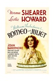 ROMEO AND JULIET, Norma Shearer, 1936 Plakat