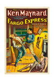 FARGO EXPRESS, right: Ken Maynard, 1933 Posters
