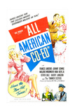 ALL AMERICAN CO-ED Posters
