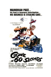 GONE IN 60 SECONDS, 1974. Art