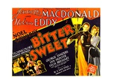 BITTER SWEET, right from left: Nelson Eddy, Jeanette MacDonald, 1940 Prints