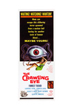 THE TROLLENBERG TERROR (aka THE CRAWLING EYE) Posters