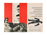 ANATOMY OF A MURDER, from left, Lee Remick, James Stewart, Ben Gazzara, 1959 Prints