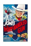 THE IVORY-HANDLED GUN, top and bottom left: Buck Jones, 1935. Prints