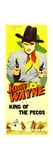 KING OF THE PECOS, John Wayne, 1936 Print