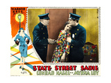 STATE STREET SADIE, center: Myrna Loy on lobbycard, 1928. Prints