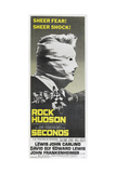 SECONDS, US poster, Rock Hudson, 1966 Poster