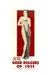 GOLD DIGGERS OF 1933, poster art, 1933. Poster