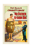 NO FATHER TO GUIDE HIM, left: Charley Chase, 1925. Prints