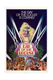 THE DAY OF THE LOCUST, US poster, Karen Black, 1975 Poster