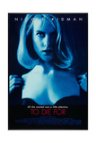 TO DIE FOR, Nicole Kidman, 1995, (c) Columbia/courtesy Everett Collection Posters