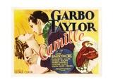 Camille, Greta Garbo, Robert Taylor, Greta Garbo, Robert Taylor, 1936 Poster
