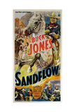 SANDFLOW, top right: Buck Jones, 1937 Posters