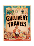 GULLIVER'S TRAVELS, window card, 1939. Prints