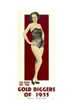 GOLD DIGGERS OF 1933, poster art, 1933. Prints