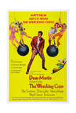 THE WRECKING CREW, US poster, Dean Martin, 1969 Prints