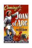 JOAN OF ARC, US poster, Ingrid Bergman, 1948. Print