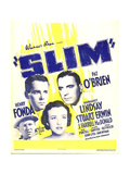 SLIM Premium Giclee Print