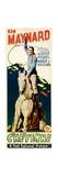 CHEYENNE, Ken Maynard on insert poster, 1929. Poster