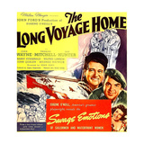 THE LONG VOYAGE HOME, John Wayne, Thomas Mitchell, Rafaela Ottiano, 1940 Print
