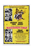 MACKENNA'S GOLD, Australian poster, Prints