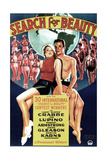 SEARCH FOR BEAUTY, US poster, Ida Lupino, Buster Crabbe, 1934 Prints