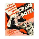 GRAND HOTEL Posters