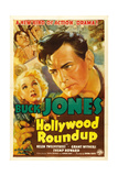 HOLLYWOOD ROUNDUP, Helen Twelvetrees, Buck Jones, 1937 Prints