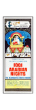 1001 ARABIAN NIGHTS, top: Mr. Magoo (voice: Jim Backus) on insert poster, 1959 Posters