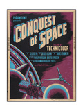 CONQUEST OF SPACE, poster art, 1955. Prints
