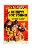MIGHTY JOE YOUNG, 1953 re-release poster, 1949. Posters