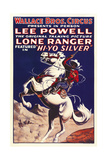 THE LONE RANGER, special circus poster, 1938. Posters