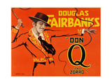 DON Q, SON OF ZORRO, Douglas Fairbanks Sr., 1925. Prints